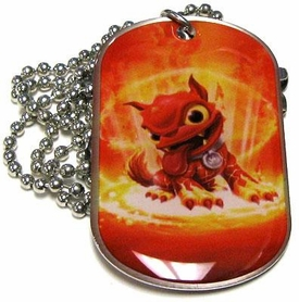 Topps Skylanders Giants LOOSE Dog Tag Hot Dog [15 of 44]