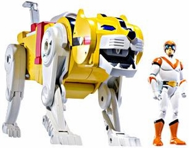 Mattel Voltron Club Lion Force Exclusive Action Figure Yellow Lion & Hunk [Packaged Together in White Collector Box!]