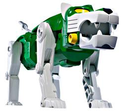 Mattel Voltron Club Lion Force Exclusive Action Figure Green Lion