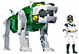Mattel Voltron Club Lion Force Exclusive Action Figure Green Lion & Pidge [Packaged Together in White Collector Box!]