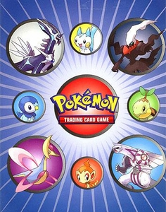 Ultra Pro Pokemon Card Supplies 4-Pocket Binder Diamond & Pearl [Darkrai & Friends]