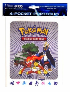 Ultra Pro Pokemon Card Supplies 4-Pocket Binder Diamond & Pearl [Infernape, Torterra & Empoleon Cover]