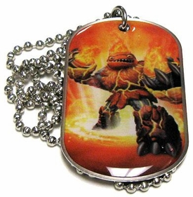 Topps Skylanders Giants LOOSE Dog Tag Hot Head [16 of 44]