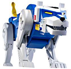 Mattel Voltron Club Lion Force Exclusive Action Figure Blue Lion