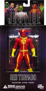 DC Direct Justice League Alex Ross Series 5 Action Figure Red Tornado