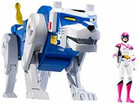 Mattel Voltron Club Lion Force Exclusive Action Figure Blue Lion & Allura [Packaged Together in White Collector Box!]