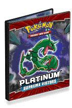 Ultra Pro Pokemon Card Supplies 4-Pocket Binder Platinum Supreme Victors