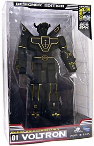 Toynami 2009 SDCC San Diego Comic-Con Exclusive Voltron Defender of the Universe Figure Voltron Lion [Vinyl Designer Paint Edition] Only 300 Made!