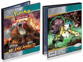Ultra Pro Pokemon Card Supplies 4-Pocket Binder Heartgold Soulsilver Unleashed Entei & Raikou