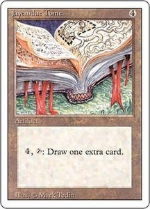 Magic the Gathering Revised Edition Single Card Rare Jayemdae Tome