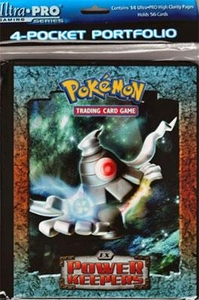 Ultra Pro Pokemon Card Supplies 4-Pocket Mini Portfolio Binder Ex Power Keepers