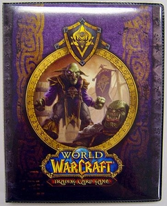 Ultra Pro World of Warcraft WoW Card Supplies 4-Pocket Binder Neutral
