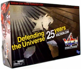 Toynami Voltron Metallic 25th Anniversary Voltron Lion Force Collector's Set