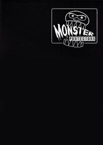 Monster Protectors Card Supplies 9-Pocket Matte Black Binder