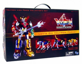 Voltron Defender of the Universe Lion Force Gift Set [Plastic Version]