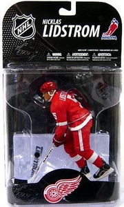 McFarlane Toys NHL Sports Picks Series 20 Action Figure Nicklas Lidstrom 2 (Detroit Red Wings) Stanley Cup Patch Variant