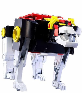 Mattel Voltron Club Lion Force Exclusive LOOSE Action Figure BLACK Lion [Missing Tail, Includes Lion Weapon & Voltron Shield]