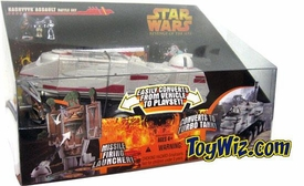 Star Wars E3 Revenge of the Sith Vehicle Kashyyyk Assault Battle Set