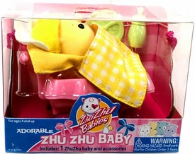 Zhu Zhu Adorable Baby Babboose [Yellow]