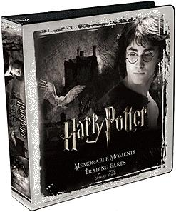 Harry Potter Memorable MomentsTrading Card Game Series 2 D-Ring Binder
