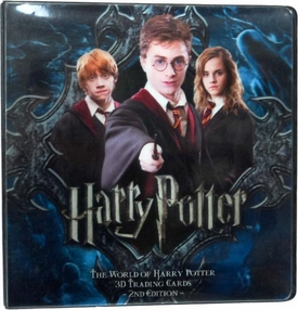 Harry Potter The World of Harry Potter Series 2 Holographic 3D D-Ring Binder