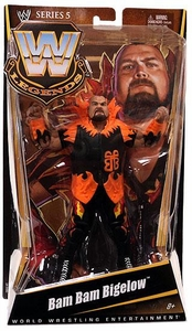 Mattel WWE Wrestling Legends Series 5 Action Figure Bam Bam Bigelow