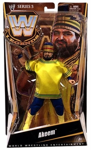 Mattel WWE Wrestling Legends Series 5 Action Figure Akeem BLOWOUT SALE!