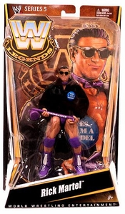 Mattel WWE Wrestling Legends Series 5 Action Figure Rick Martel