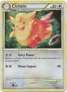 Pokemon Call of Legends Single Card Rare Holo #1 Clefable