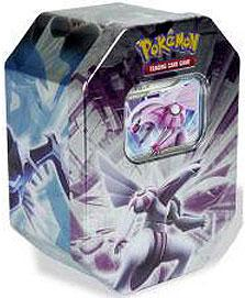 Pokemon Diamond & Pearl 2008 Tin Set Palkia with Palkia LV.X Foil Card