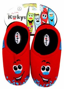 The Kookys Krew 15 Pair of Slippers Dripp [Large]