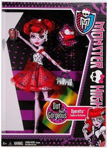 Monster High Dot Dead Gorgeous DELUXE Doll Operetta