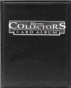 Ultra Pro Card Supplies Small 4 Pocket 10 Page Collectors Card Album Black