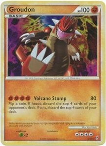 Pokemon Call of Legends Single Card Rare Holo #6 Groudon