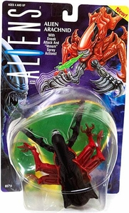 Aliens Kenner Vintage 1992 Action Figure Alien Arachnid [Sneak Attack & Venom Spray]