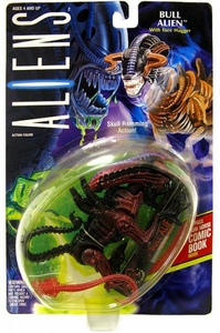 Aliens Kenner Vintage 1992 Action Figure Bull Alien [Skull Ramming Action]
