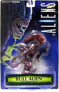 Aliens Kenner Vintage 1996 Exclusive Action Figure Bull Alien [Skull Ramming Action]