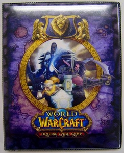 Ultra Pro World of Warcraft WoW Card Supplies 4-Pocket Binder Alliance