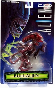 Aliens Kenner Vintage Action Figure Bull Alien [Skull Ramming Action]