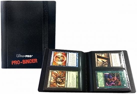 Ultra Pro Card Supplies 2-Pocket PRO-Binder Black