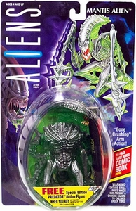 Aliens Kenner Vintage 1992 Action Figure Mantis Alien [Bone Crushing Arm Action]