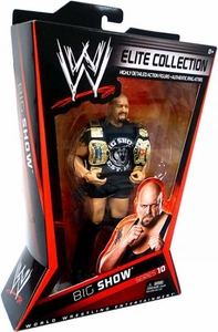 Mattel WWE Wrestling Elite Series 10 Action Figure Big Show [Both Tag Title Belts!]