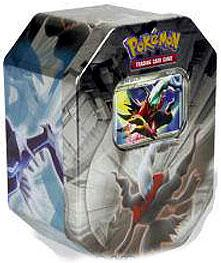 Pokemon Diamond & Pearl 2008 Tin Set Darkrai with Darkrai LV.X Foil Card