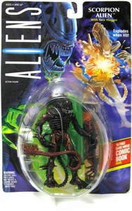 Aliens Kenner Vintage 1992 Action Figure Scorpion Alien [Exploding Action] Slightly Damaged Package!  Mint Toy!