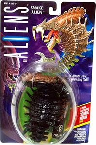 Aliens Kenner Vintage 1992 Action Figure Snake Alien [Snap Attack Jaw & Constricting Tail]