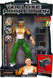 WWE Jakks Pacific Wrestling DELUXE Aggression Series 6 Action Figure Kenny [Spirit Squad]