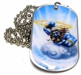 Topps Skylanders Giants LOOSE Dog Tag Lightning Rod [25 of 44]