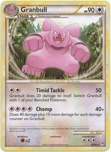 Pokemon Call of Legends Single Card Rare #26 Granbull