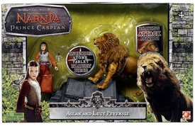 Chronicles of Narnia Prince Caspian Basic Figure Box Set Aslan & Lucy Pevensie