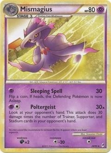 Pokemon Call of Legends Single Card Rare #28 Mismagius